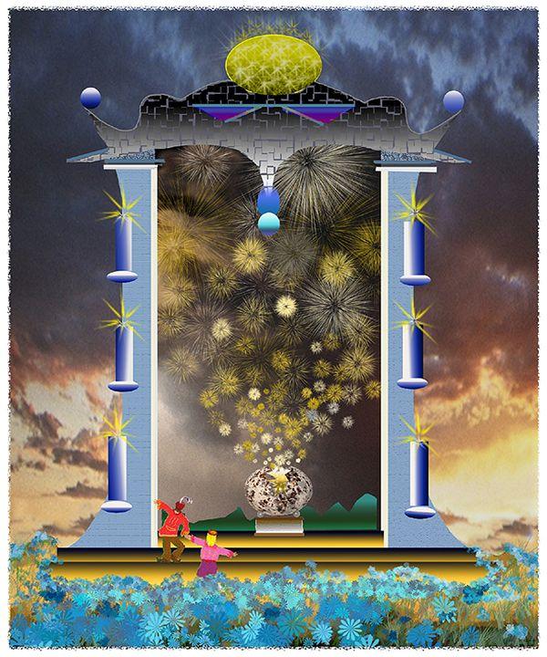 at the Gate of  Awakening - holyhollys