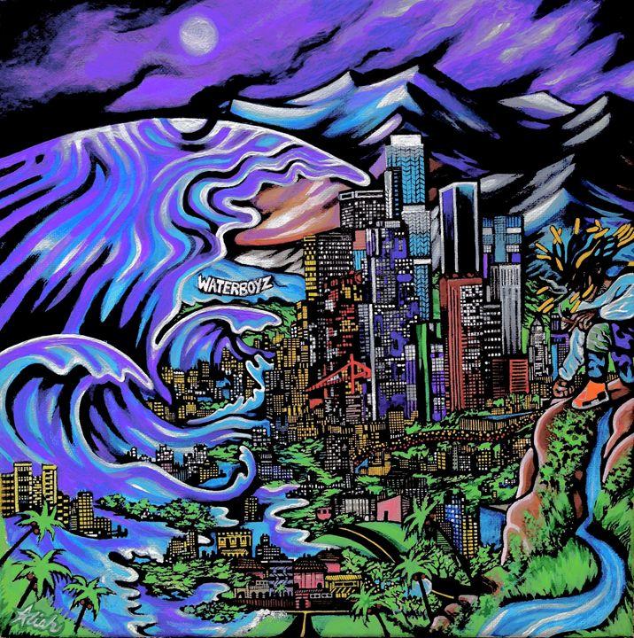 Water Boyz - Aliah Montazeri