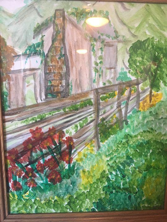 Old Oregon Barn - Melody K Kiser