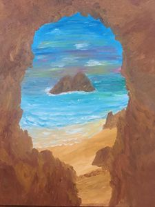 Oceanside Cave View