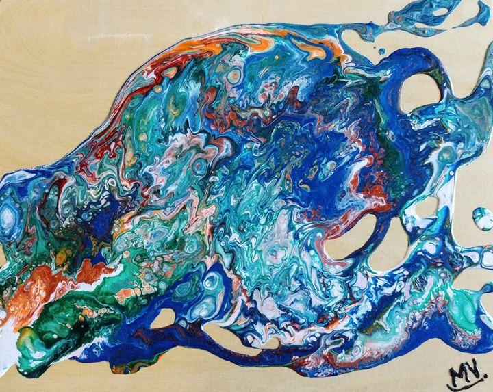 Earth from above - MVJ Artiste peintre