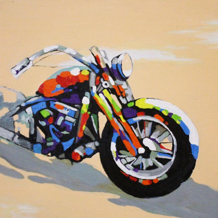 Color motorbike - Ninhart Vu