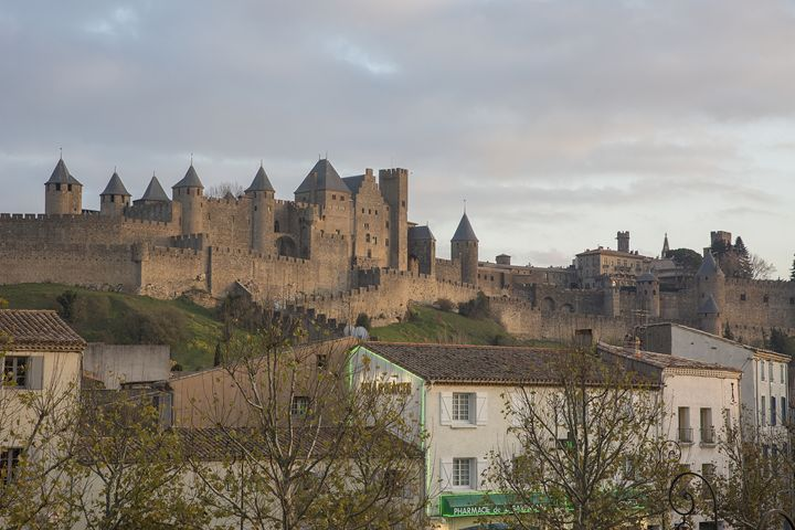 A Mix of Old & New -Carcassone - Shootitall Photo