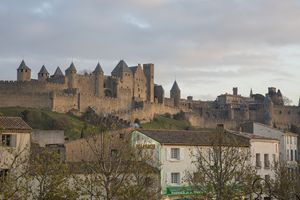 A Mix of Old & New -Carcassone