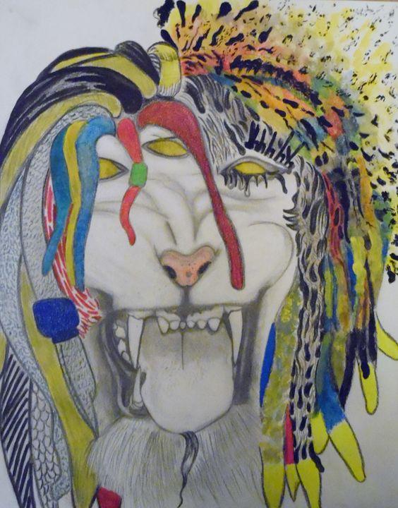 Three Eyed Beastly Lion - Nicole Burrell