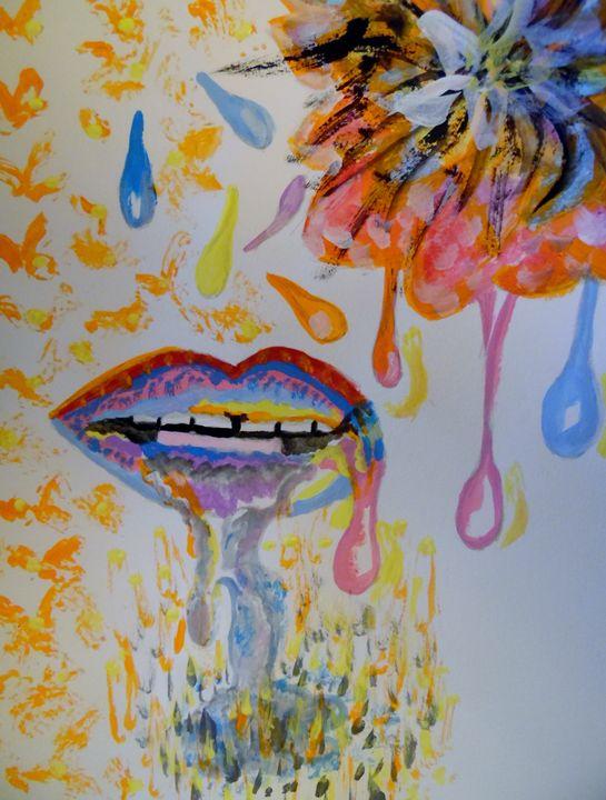 Dripping Lips - Nicole Burrell