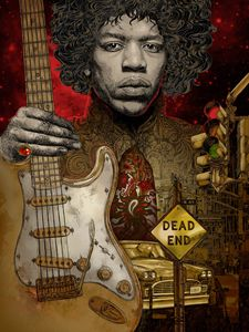 Jimi Hendrix The End Of The Traffic
