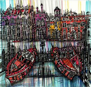 Amsterdam. Boats