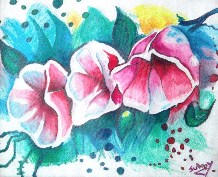 Exotic Flowers - Sunny's Art