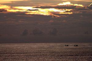 Sunset and Boats- Phuket, Thailand