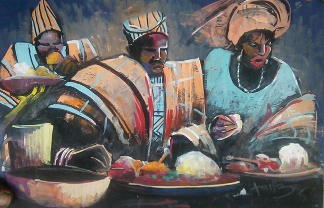 african food -  Fonaeki