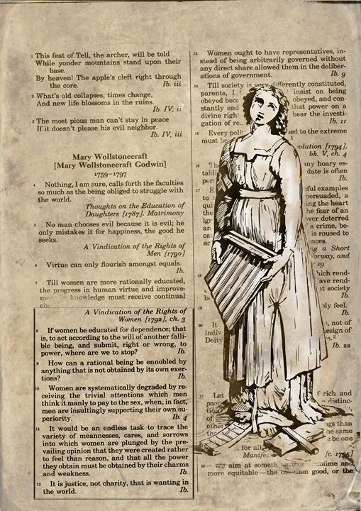 The Rights Of Women - Art Morphosis