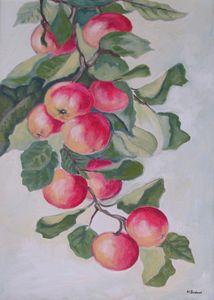 Grappe de pommes
