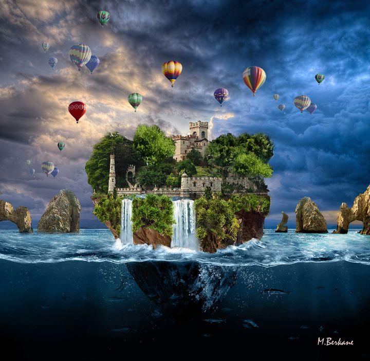 Chateau sur rochet 02 - Berkan'Art