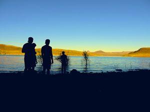 Silhouette at Lake