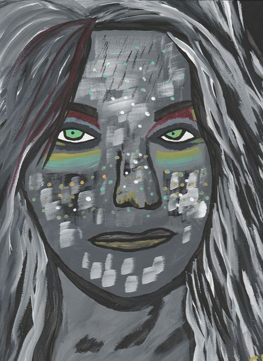 Amazonian Woman - Photos / Digital Art / Paintings