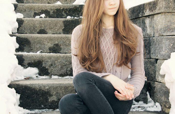 Winter Pose - Liana