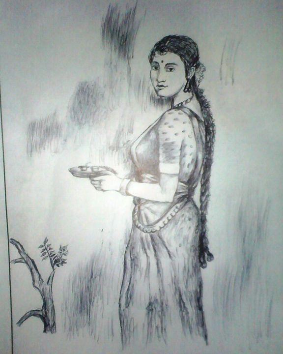 Tradtional woman -  Vishnu.alloju