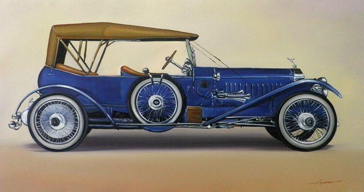 1.1. Rolls-Royce Silver Ghost 40/50 - Hamilton-Walker Art