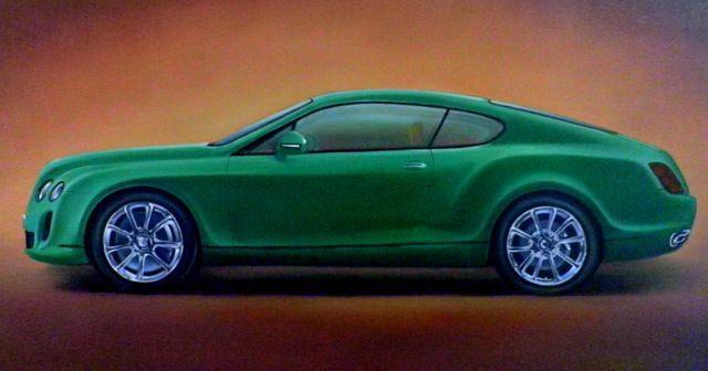 2.6. Bentley Continental GT - Hamilton-Walker Art