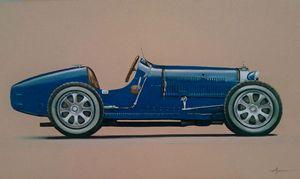 4.1. Bugatti Type 35C Grand Prix - Hamilton-Walker Art