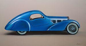4.3. Bugatti Aerolithe (1935) - Hamilton-Walker Art