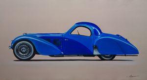 4.4. Bugatti Type 57SC Atlante - Hamilton-Walker Art
