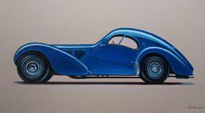 4.5. Bugatti Type 57SC Atlantic 1938 - Hamilton-Walker Art