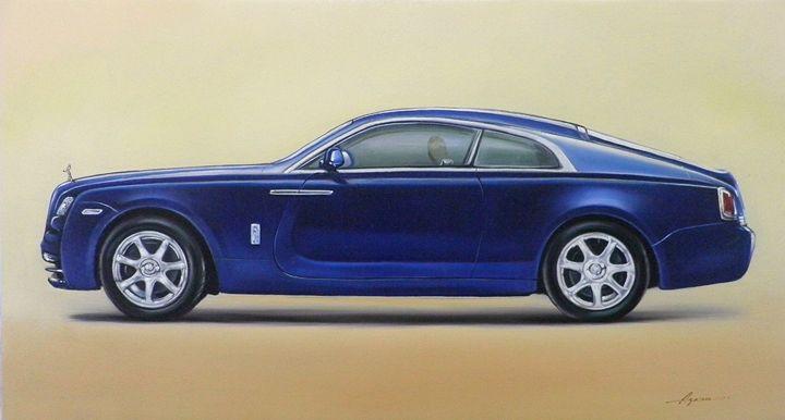 1.6. Rolls Royce Wraith (2013) 35x19 - Hamilton-Walker Art