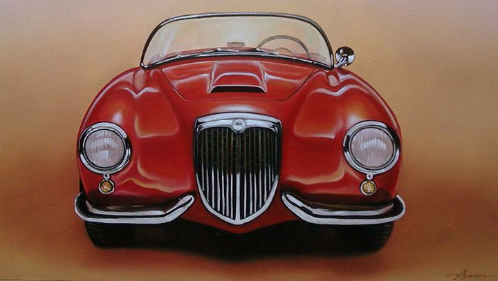 12.2 Lancia Aurelia B24 Spider (1954 - Hamilton-Walker Art