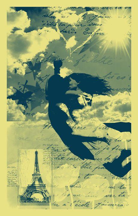 Paris & Love - Elena Romanova Art Galery