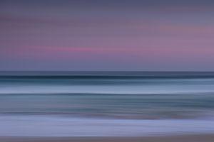 Bondi Beach Australia at twilight