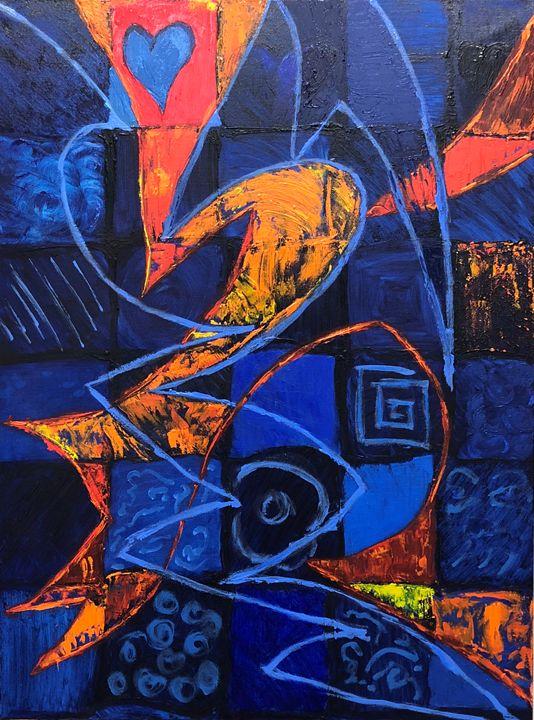 Working thru My Blue/Finding My Joy - Lisa Zilker