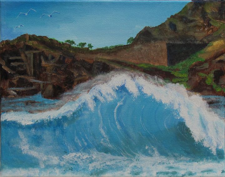 Big Wave - Art by JAMES B TAYLOR