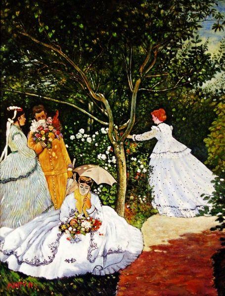 WOMEN IN THE GARDEN - MONTY