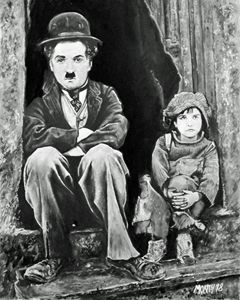 CHARLOT AND THE KID