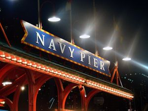 Navy Pier Night
