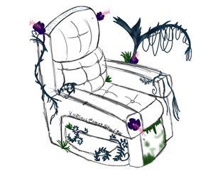 Chair of Dismayed Growth - Krystal Comet Studios