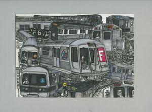 Subway Synchronicity - AB-SURD9 Ink