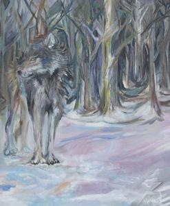 Mischievous Wolf