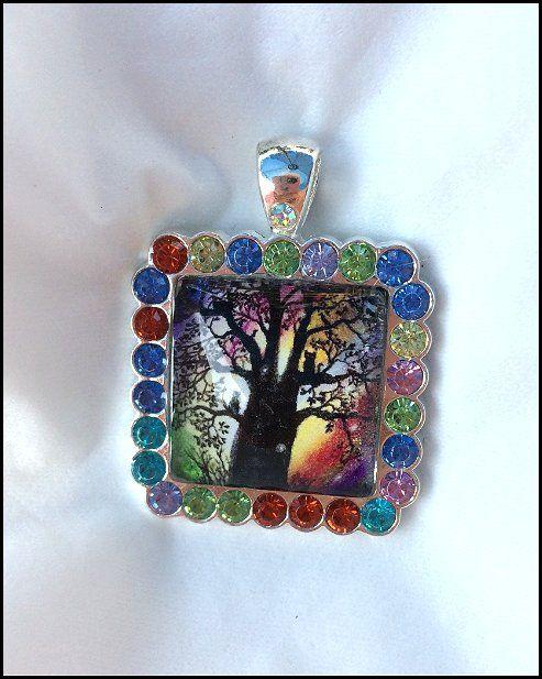 Pendant - The Magic Tree - Patricia Ann Rizzo