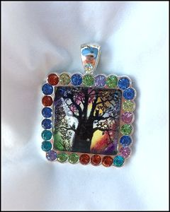 Pendant - The Magic Tree - Patricia Ann Rizzo