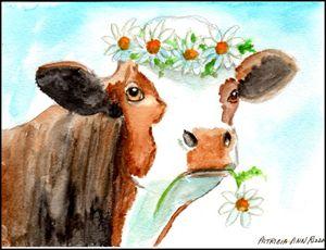 Original Art - Daisy the Cow