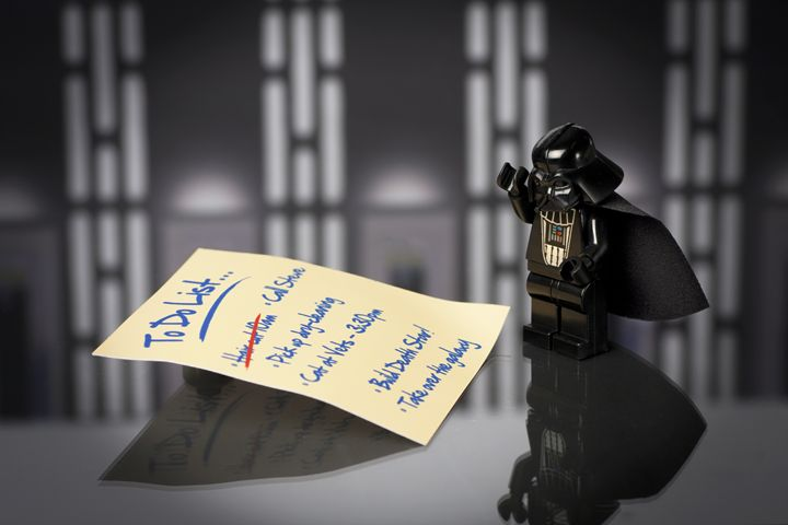 Vader's To Do List - Jammy Photography