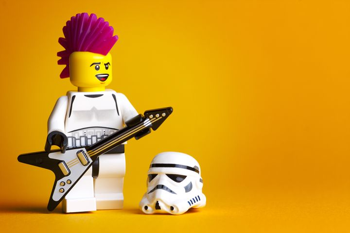 Rocking Out Stormtrooper - Jammy Photography