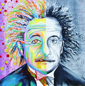Einstein's Art & Science