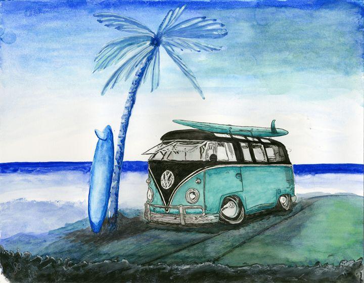 VW Bus - James Badger