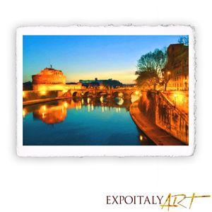 Rome - Castel Sant'angelo 11.82 x 15