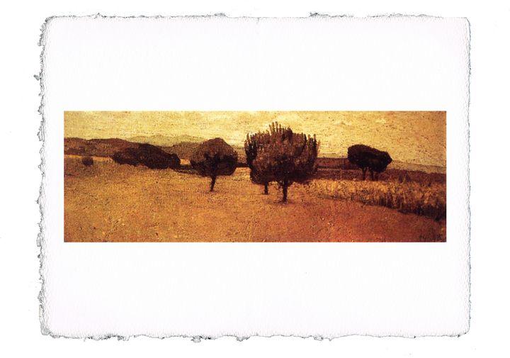 Abbati - Landscape at Castiglioncell - ExpoitalyArt