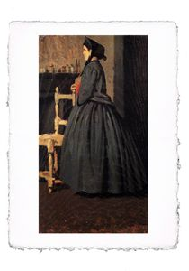 Abbati - Portrait of a Woman